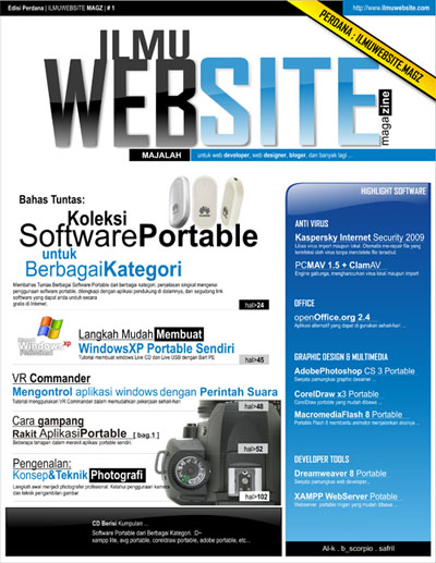 Free Download Majalah Ilmuwebsite v.1.0