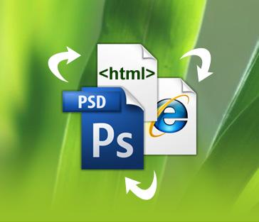 Photoshop to Dreamweaver (Table Based) web desain grafis