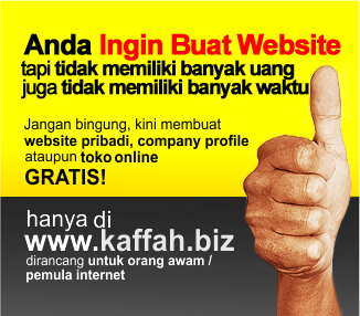 Membuat Website Gratis dan Toko Online Gratis