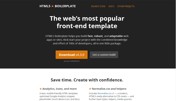 6.html5boilerplate