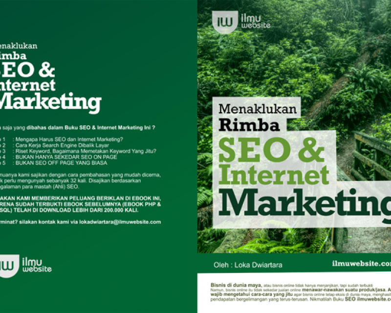 Ebook Belajar SEO : Menaklukan Rimba SEO & Internet Marketing
