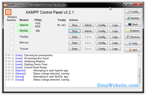 9.controll-panel-xampp