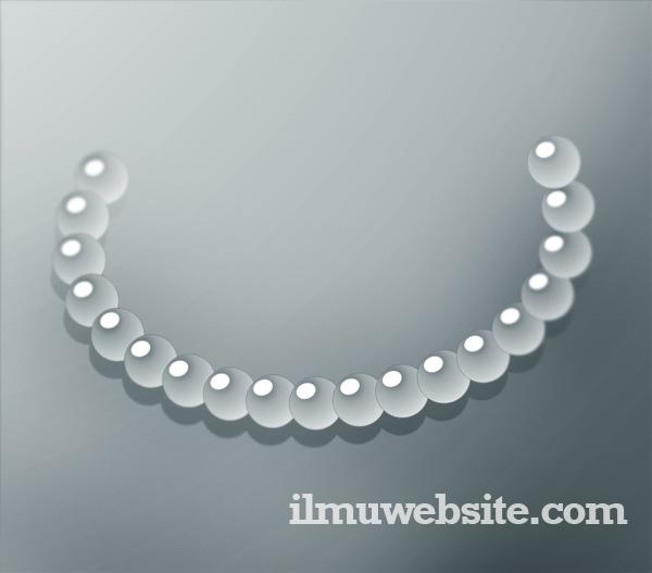 Membuat Kalung Mutiara Menggunakan CorelDraw