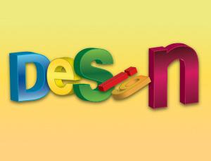 Tutorial Illustrator : Membuat Teks 3D Dengan Extrude