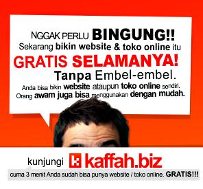 Cara Membuat Website dan Toko Online Gratis