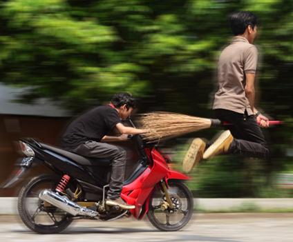 Membuat Foto Terlihat Lebih Dramatis Dengan Effect Blur Photoshop
