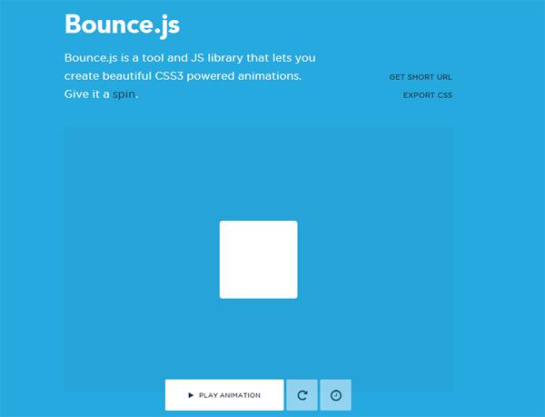 Bounce: Cara Cepat Membuat Animasi Element HTML Memanfaatkan CSS3