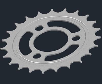 Tutorial AutoCad : Membuat Gear Motor Bag. 2 (3 Dimensi)
