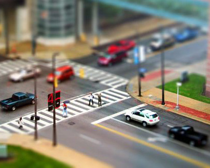 Tutorial Photoshop : Effect Tilt Shift Agar Foto Terlihat Seperti Miniatur