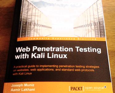 Buku Rekomendasi : Web Penetration Testing With Kali Linux