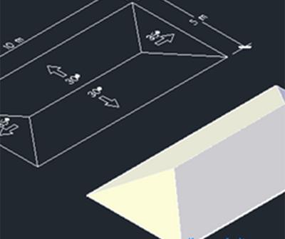Tutorial AutoCAD : Cara Cepat Membuat Atap Rumah
