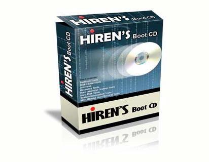 Hirens BootCD : P3K Sistem Operasi Dalam Satu CD