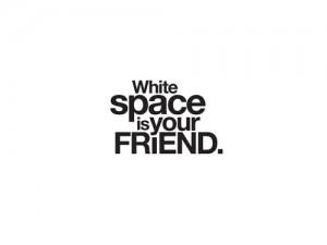 Space / Ruang : Komponen Pokok Dalam Desain Grafis