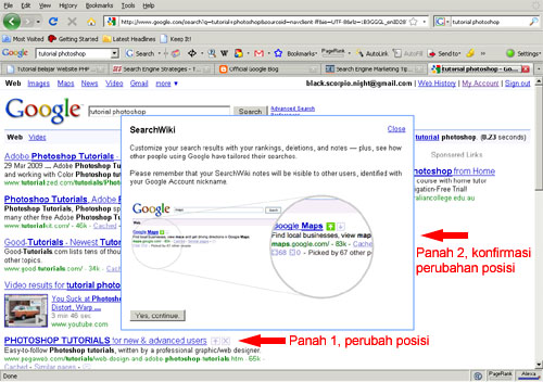 Pengembangan Google Search Result
