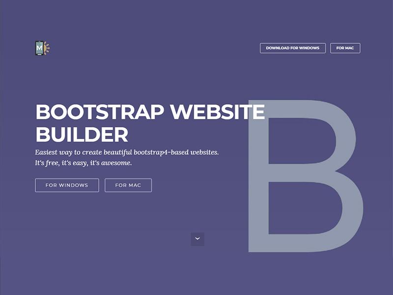 Mobirise Bootstrap Builder : Solusi Bikin Layout Dengan Bootstrap Lebih Cepat, Khususon Web Developer Yang Sibuk Ngoding