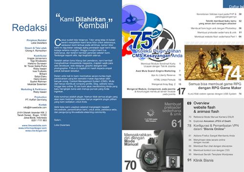 Ilmuwebsite Magz v.2 | E-Zine