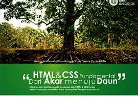 Belajar HTML & CSS Lengkap + Studi Kasus + Ebook PDF Gratis